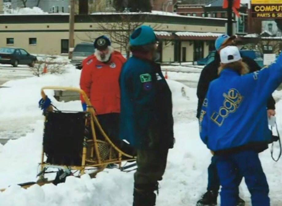 The 2007 UP200 sled dog race...where my autoimmune issues began.