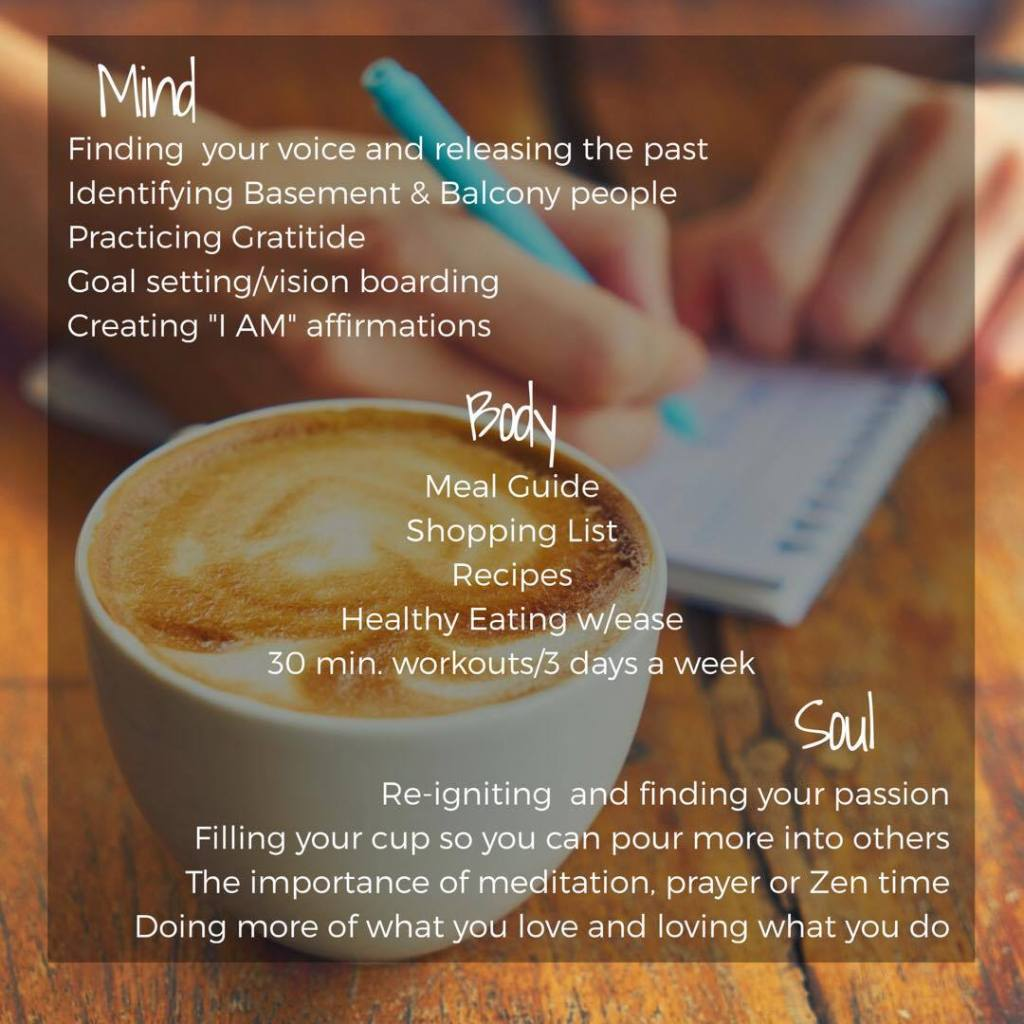 More than a meal guide! Mary's Lifestyle Lab Online Program includes Lessons for your Mind, Body and Soul!