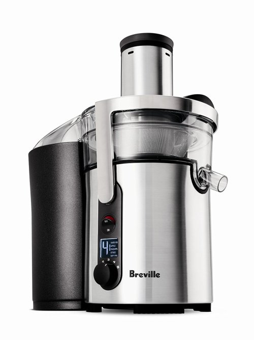 This Breville Juicer on holiday gift guide has juiced a LOT of celery in the last six months!