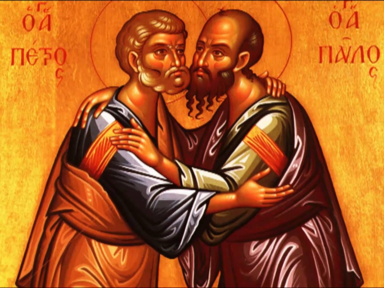 Το τυπικό της εορτής των Πρωτοκορυφαίων Αποστόλων Πέτρου & Παύλου (Μέγας Εσπερινός, Όρθρος, Θεία Λειτουργία)