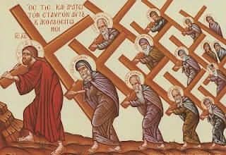 Κυριακή Γ΄ Νηστειών (Σταυροπροσκυνήσεως)  «…ἀπαρνησάσθω ἑαυτὸν καὶ ἀράτω τὸν σταυρὸν αὐτοῦ» (Μρ 8, 34).
