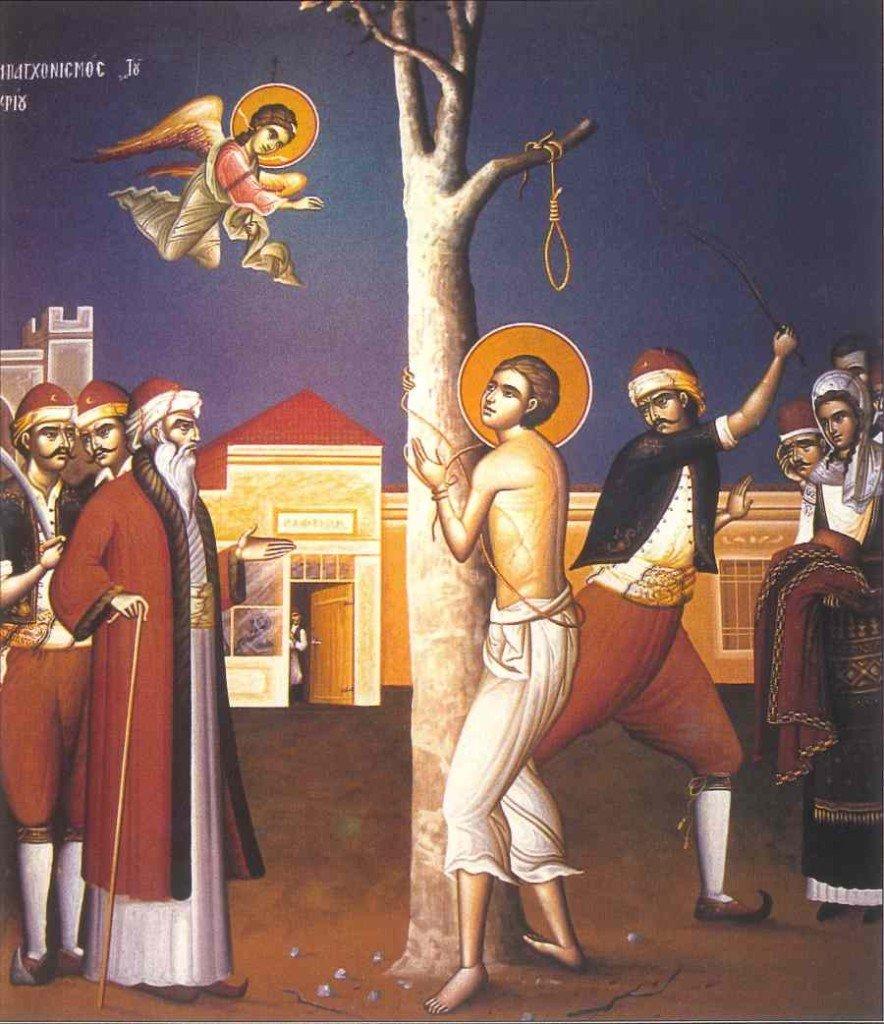 Ο Νεομάρτυς άγιος Αργύριος ο Επανωμίτης (εορτάζει στις 11 Μαΐου)