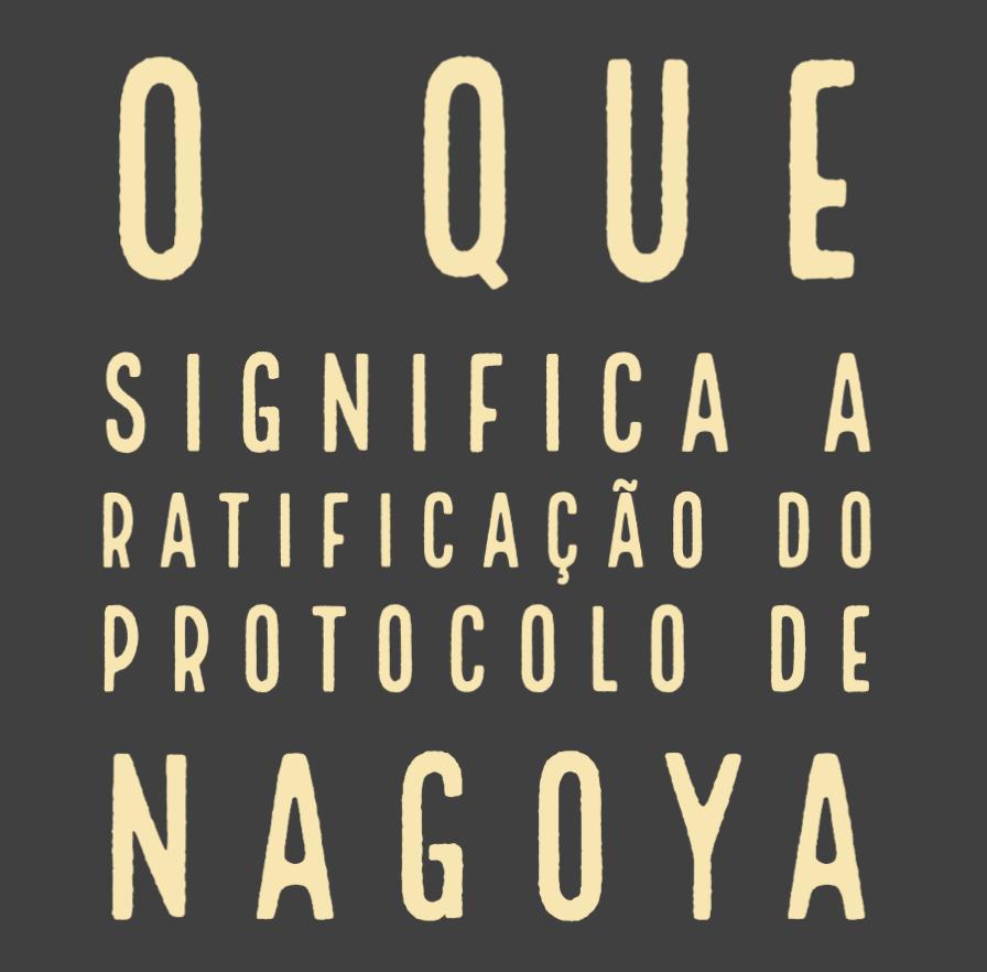 Blog Cidadãos do Mundo: O que significa a ratificação do Protocolo de Nagoya?