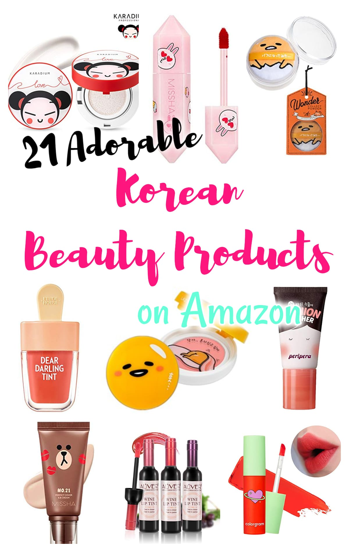 21 Adorable Korean Beauty Products on Amazon