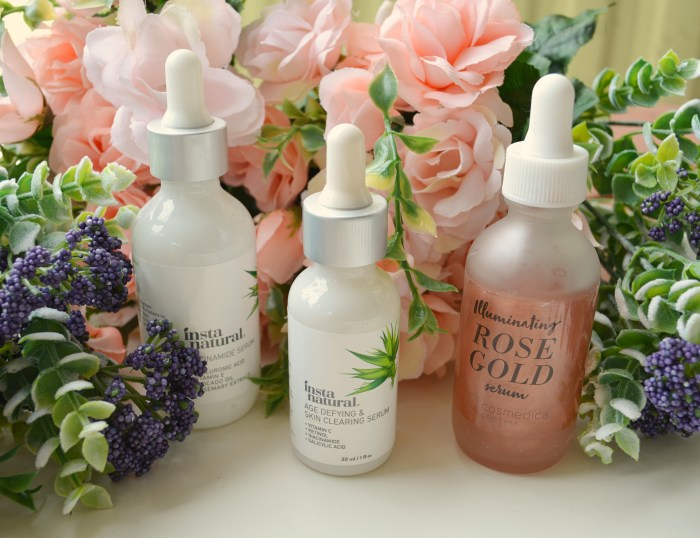 What's the difference between a serum, emulsion, and essence?