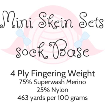 Mini Skein Sets - Sock Base