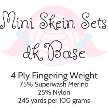 Mini Skein Sets - DK Base
