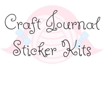 Craft Journal Sticker Kits