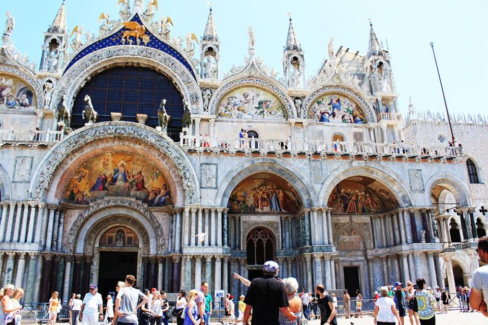 St.Mark's Basilica Italy Travel