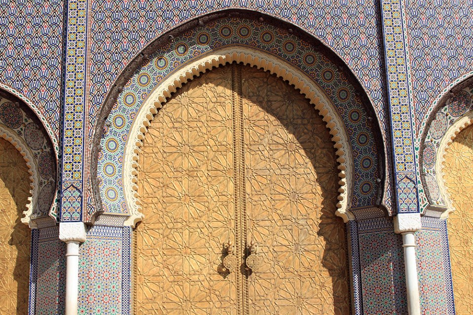 majestic door patterns as soul therapy in morocco