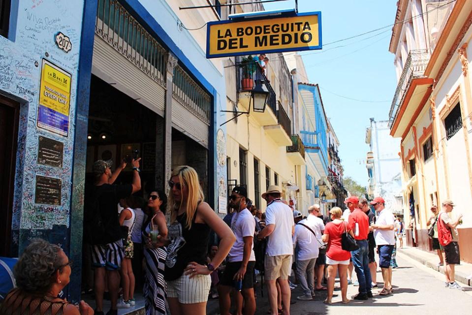 La Bodeguita del Medio Havana Cuba food guide most famous bar