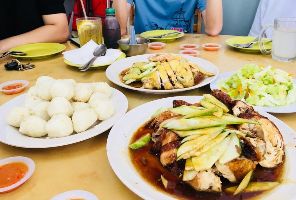 Heng Hainanese Chicken Rice Balls Melaka Alpha Weekend