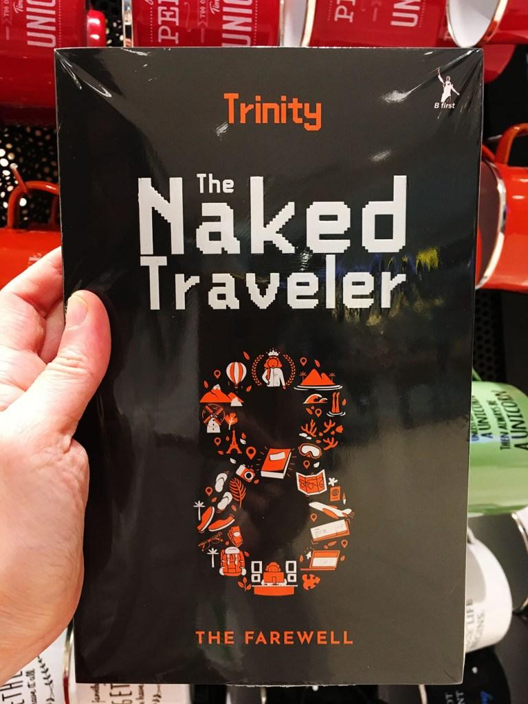 the naked traveler gramedia jakarta
