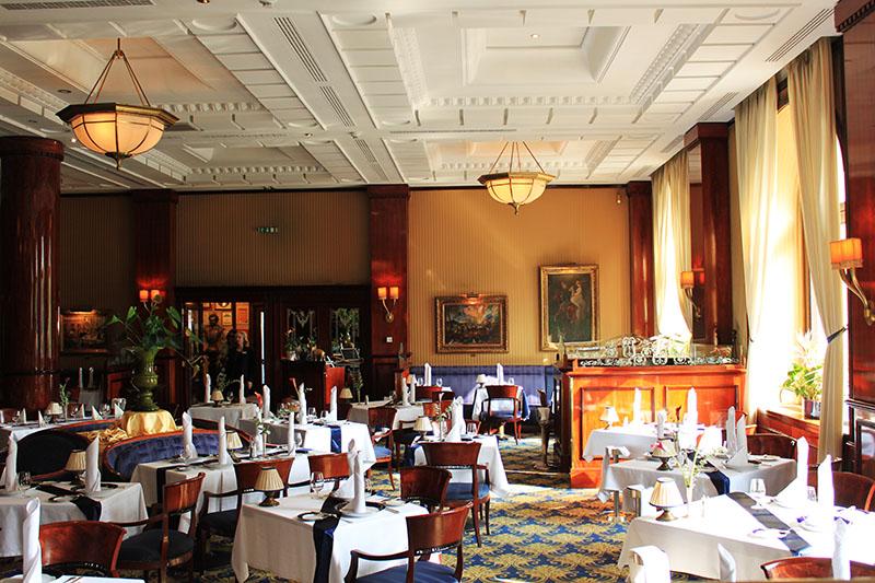 Gundel restaurant interior design morning sunshine Budapest