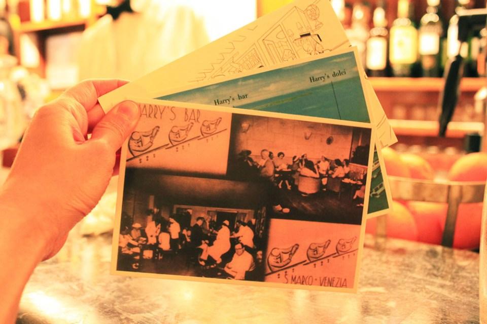 harrys bar venice postcards memorabilia_agirlnamedclara