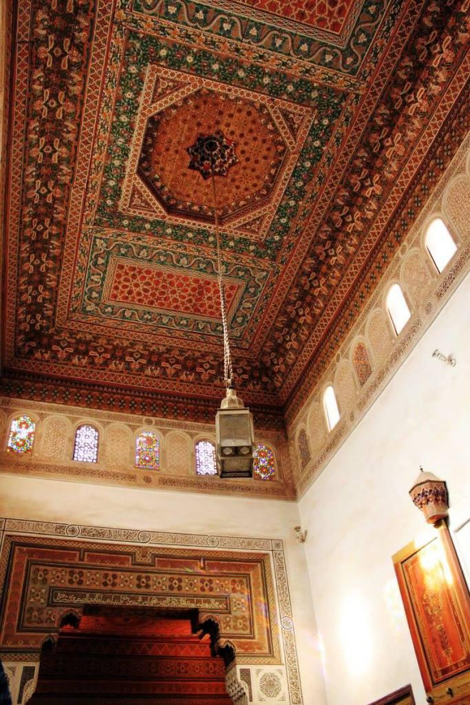 Bahia Palace Morocco ceiling details design details design architecture hanging lights agirlnamedclara