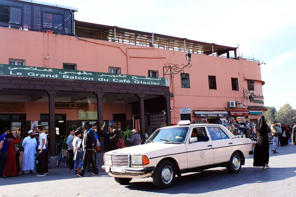Marrakech souk Morocco old taxi agirlnamedclara