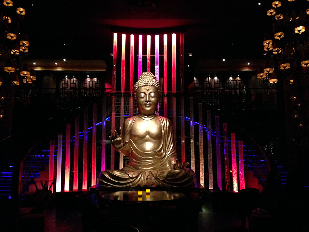 buddha bar marrakech giant gold buddha statue rick's cafe casablanca morocco nightlife agirlnamedlcara