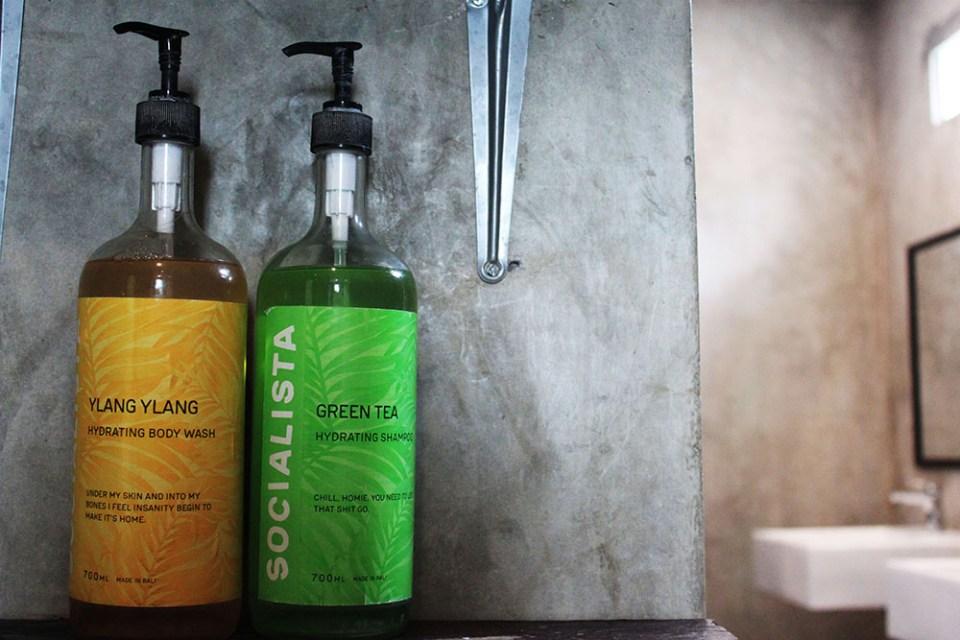 free theurapetic body wash and shampoo socialista lifestyle hostel seminyak bali agirlnamedclara
