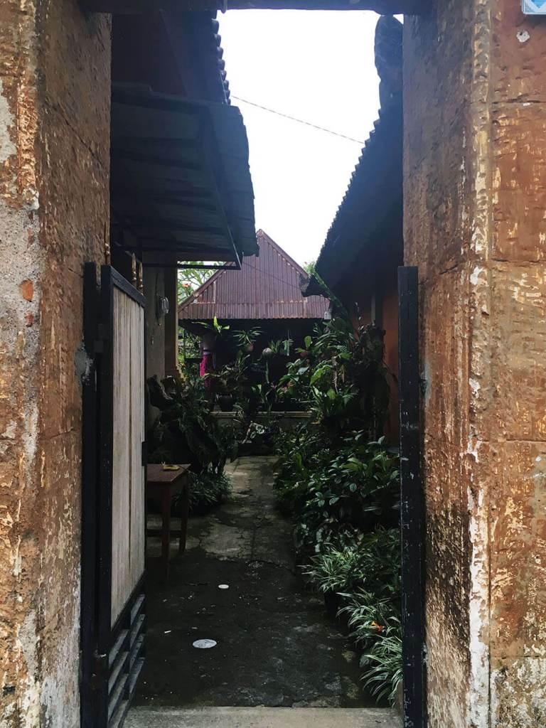 house entrance penglipuran bali agirlnamedclara