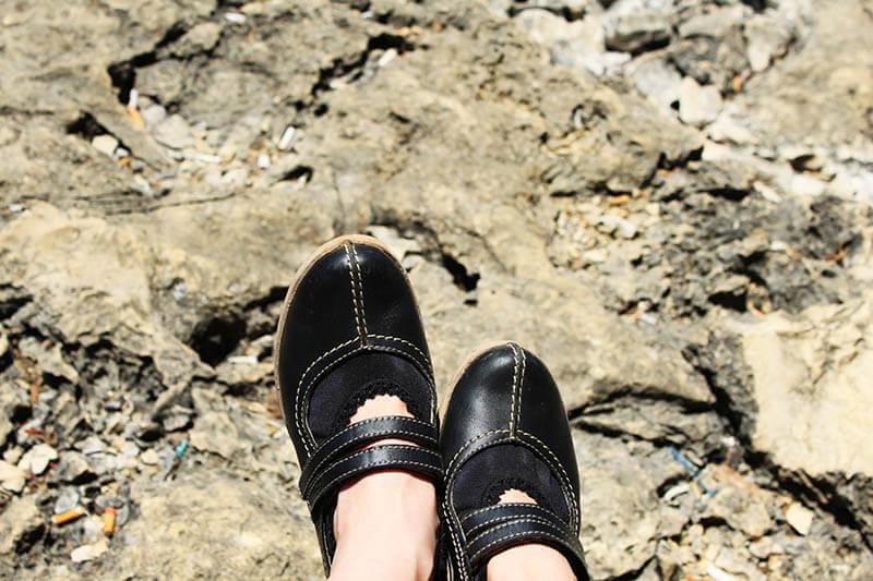 black mary jane hiking stone karst stone bukit rammang rammang sulawesi makassar_agirlnamedclara
