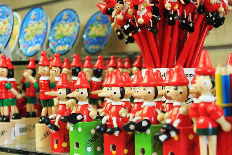 pinocchio stationery souvenir capri italy agirlnamedclara