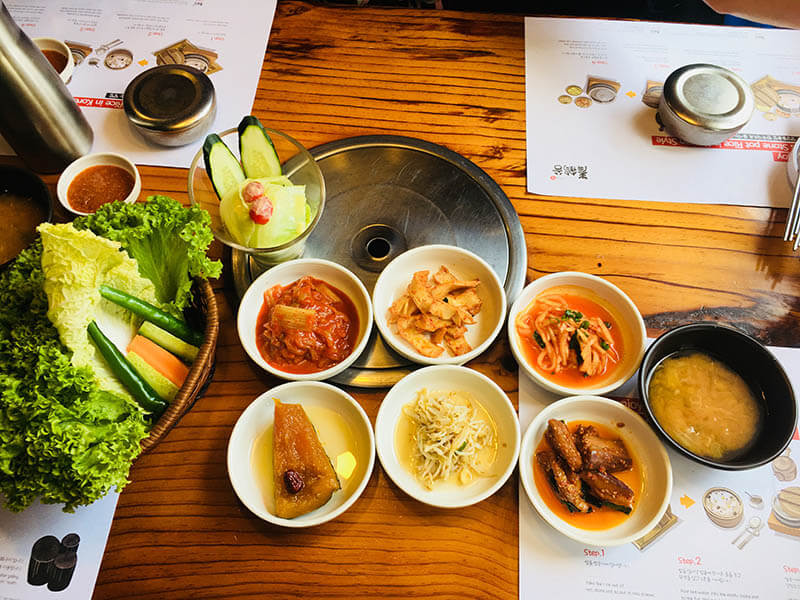 qing he gu side dishes korean restaurant damansara uptown pj_agirlnamedclara