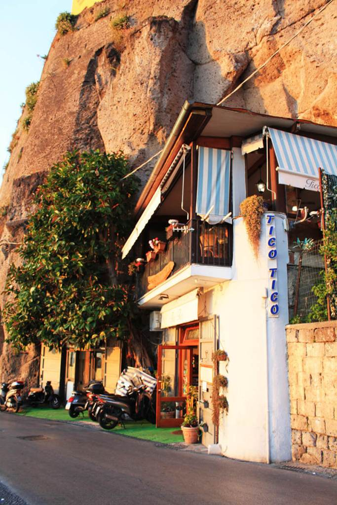 tico tico sorrento italy entrance ristorante restaurant sunset agirlnamedclara