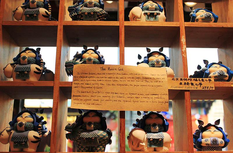 the rabbit god figurine souvenir houhai beijing agirlnamedclara