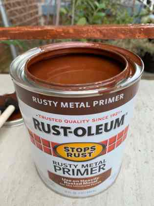 primer for painting your metal porch railings
