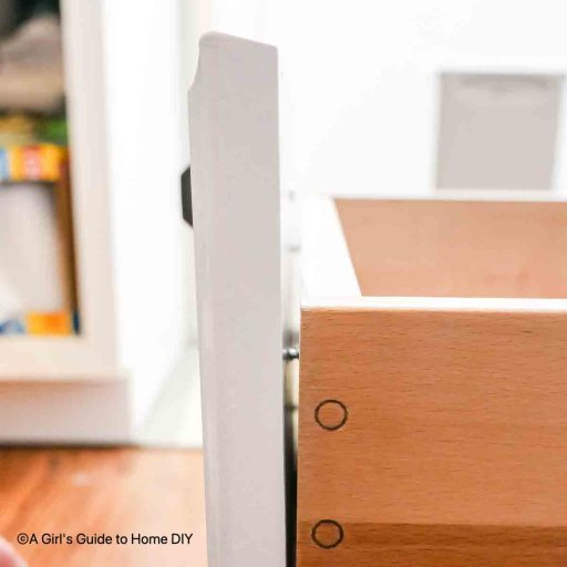 replacing cabinet drawer fronts