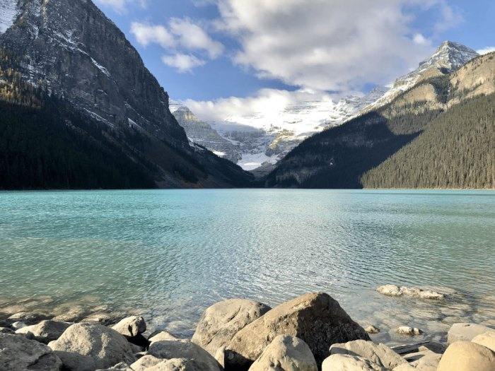 Banff is a Canadian National Park