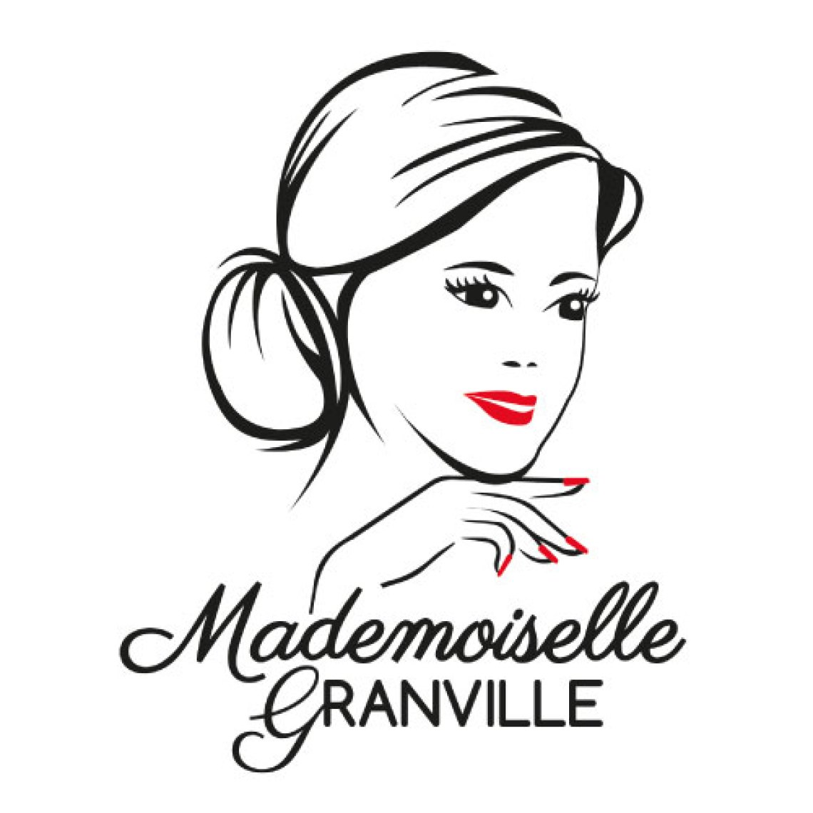 Création logotype Mademoiselle Granville