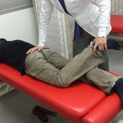 骨盤・腰椎偏位の調整