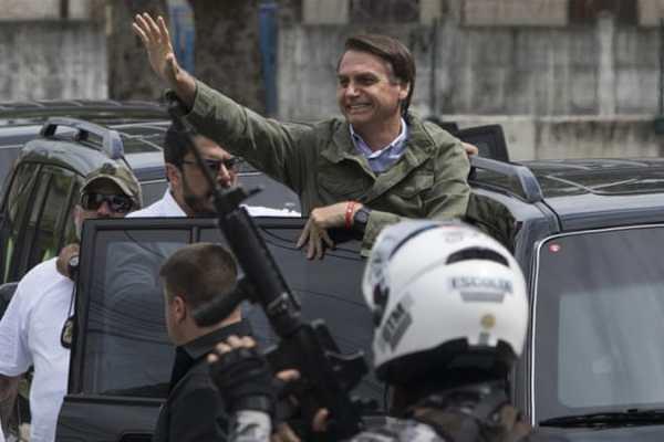 Εκλογή Μπολσονάρο στη Βραζιλία