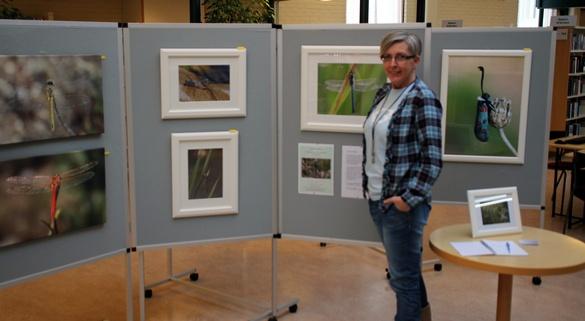 Anne-Lise med fotoutstilling