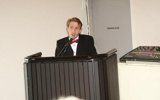 Elevrådsleder Oskar Gjevik.