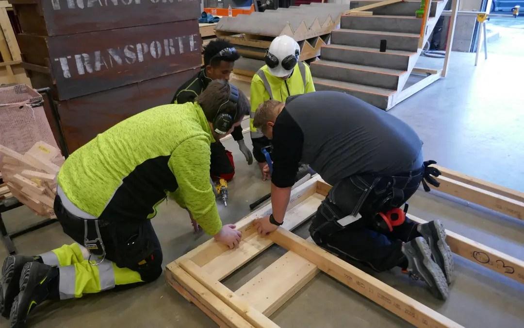 Ledig jobb som  lærer i byggfag!