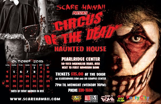 Circus of the Dead Hawaii