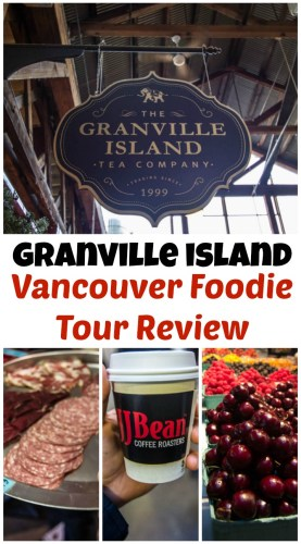 Granville Island Vancouver Foodie Tour Review