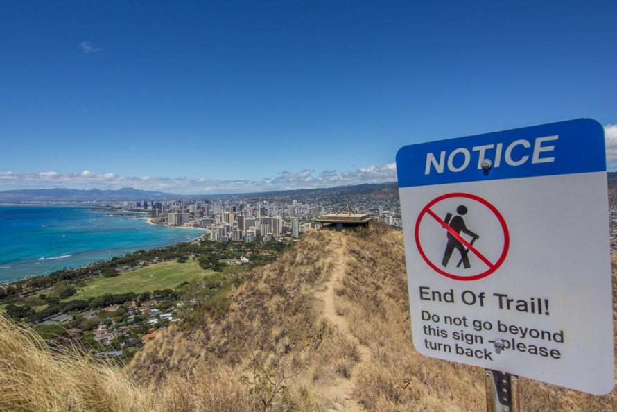 Diamond Head Hike Hawaii