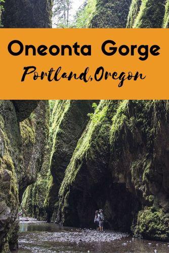 Oneonta Gorge Portland Oregon
