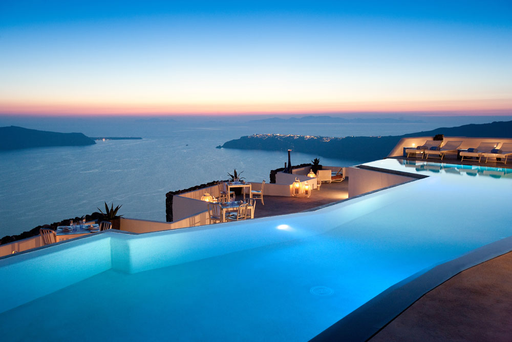 Grace Hotel Santorini Pool