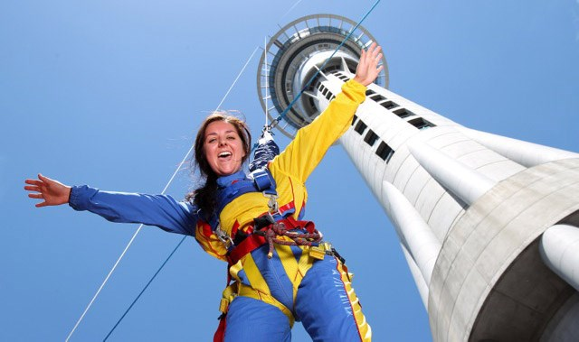 SkyJump Auckland New Zealand