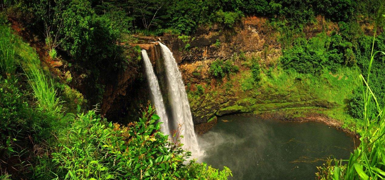Wailua Falls Kauai Hawaii