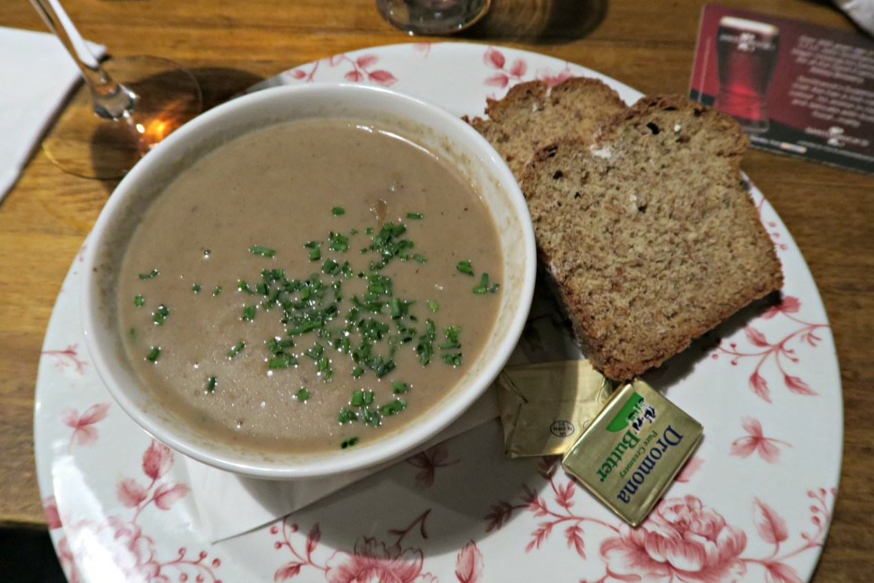 mushroom soup the old storehouse