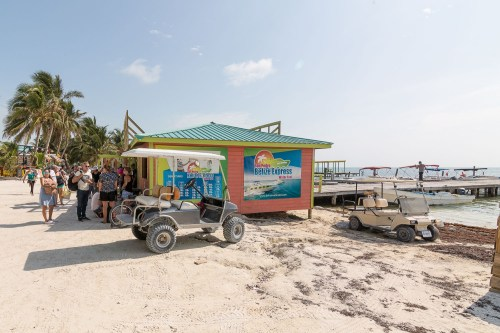 Belize water taxi