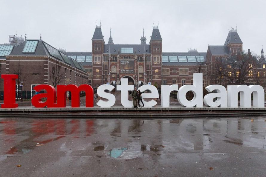 Netherlands Amsterdam Sign