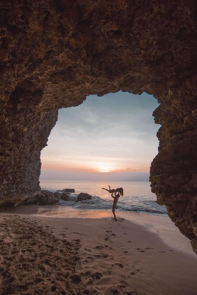 Tegal Wangi Beach Cave