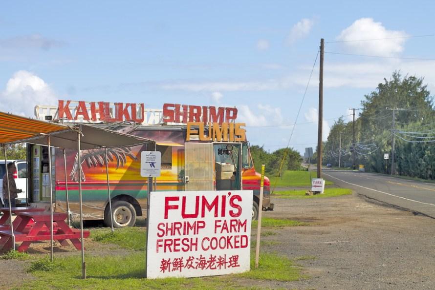 North Shore Shrimp Truck